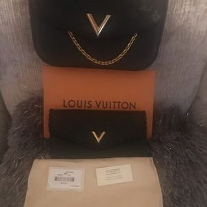 Louis Vuitton wallet only